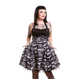 DC Comics Batman Graffiti Official Women's Dress (Black) - Urban Species Ladies Dress