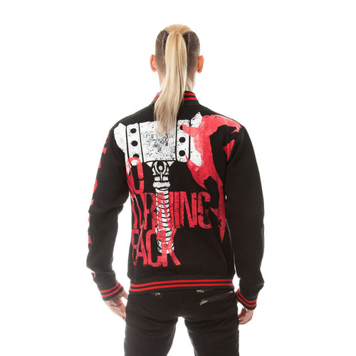 Warcraft Horde No Turning Back Official Varsity Jacket (Black)