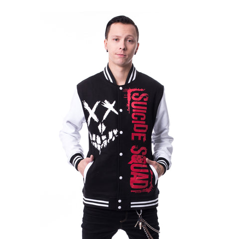 Suicide Squad Squad Splash Men's Varsity Jacket