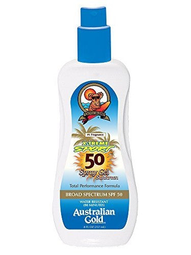 Australian Gold X-treme Sport Gel  SPF30 - Let's Beach