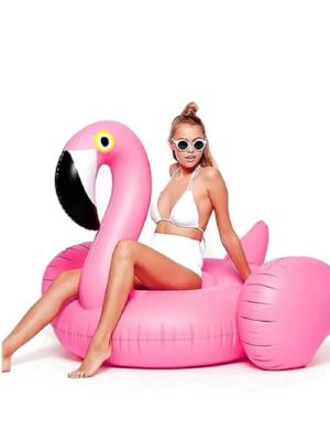Giant Flamingo Pool Float - Let's Beach