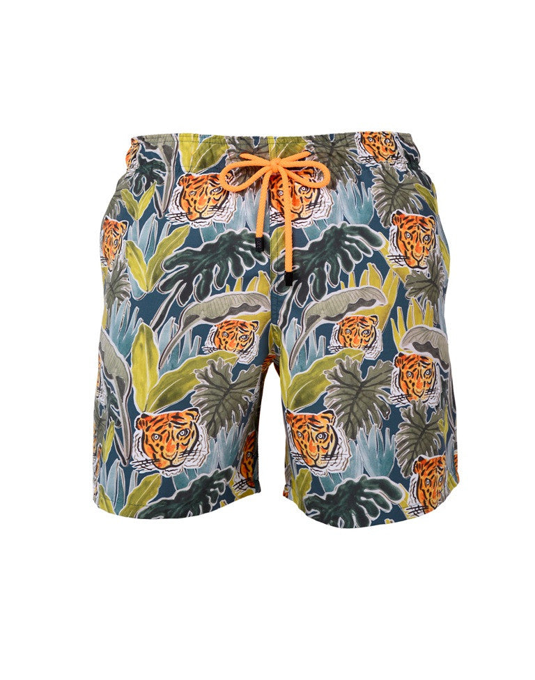 Jungle Boogie Shorts-Shorts-Let's Beach