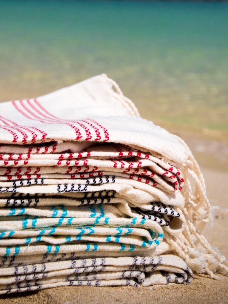 Authentic Handloomed Fouta - Let's Beach