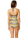Geo Remix Swimsuit-One-piece-Let's Beach