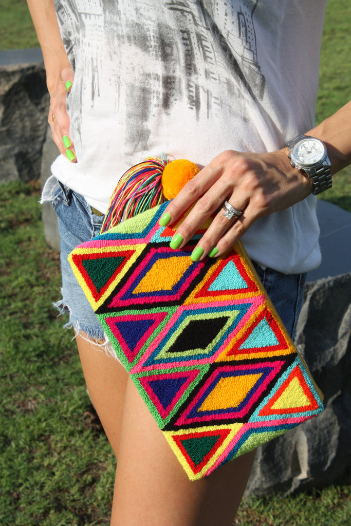 SUN CLUTCH BAG - Let's Beach