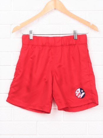 Red Flag Boys Swim Shorts - Let's Beach