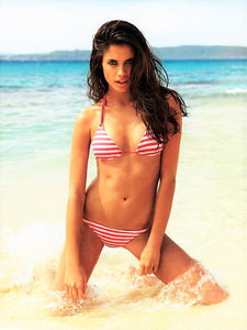 Pink Stripy Bikini - Let's Beach