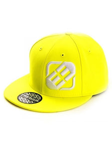 Neon Yellow Cap - Let's Beach
