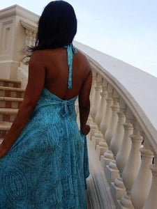 Boho backless dress - Let's Beach