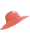 Let's Beach Hat Peach hat with shells