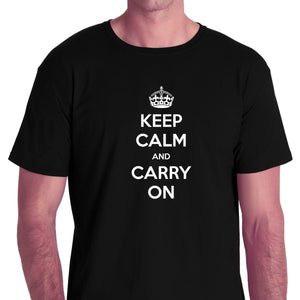 Keep Calm And Carry On T-shirt for Men - Let's Beach