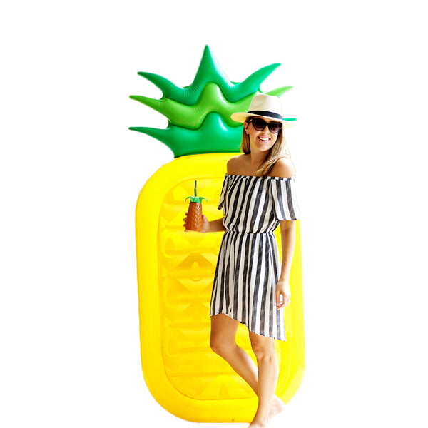 Giant Pineapple Pool Float - Let's Beach