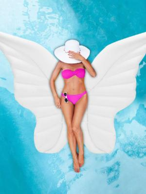 Angel Wings Pool Float - Let's Beach