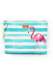 BONAMIE Wet Bikini Bag Flamingo - Let's Beach