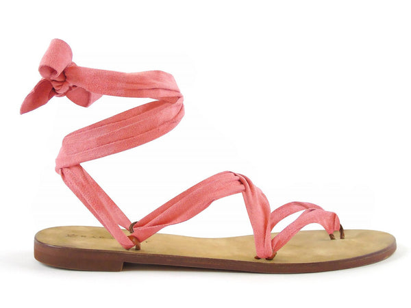 Suede Flamingo Ribbon - Let's Beach