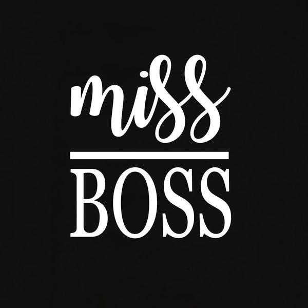 Miss Boss T-shirt for Women - Let's Beach