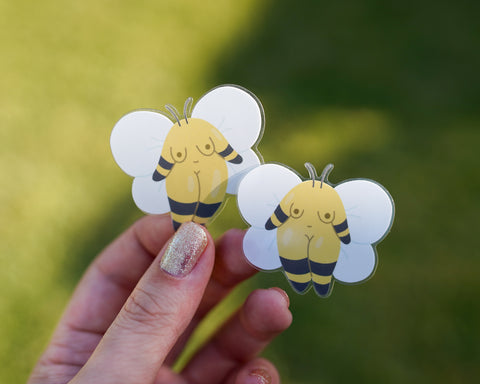 Bumblebee Girl Enamel Pin