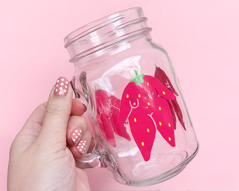 Strawberry Girls Mug