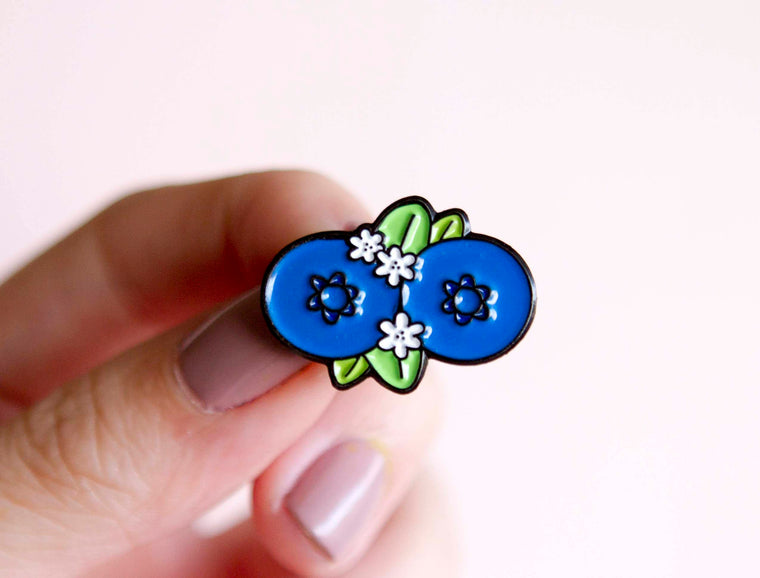 Booberries Enamel Pin