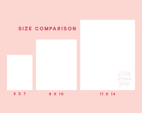 Feminist Art Print- Personal Space Illustration Minimalist Modern Digital Illustration Pink Feminist Art Print Wall Art