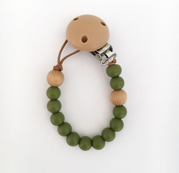 MINI DUMMY CLIP- OLIVE