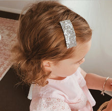 """TULLY"" CHRISTMAS MINI GLITTER CLIPS BOW SET"
