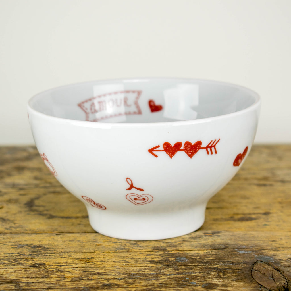 Schale / Salatschale / Bowl 14 cm - Design Wedding
