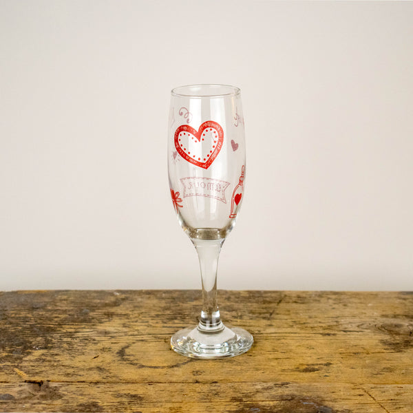 Sektglas 0,18l - Design Wedding