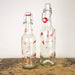 Glas  / Flasche 700ml / 1000ml - Design Wedding