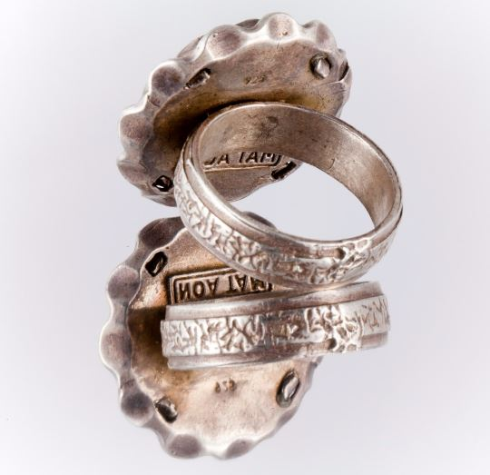 1 Agora Israeli Coin Ring Silver RINGS