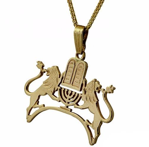 10 Commandment Pendant - Lions