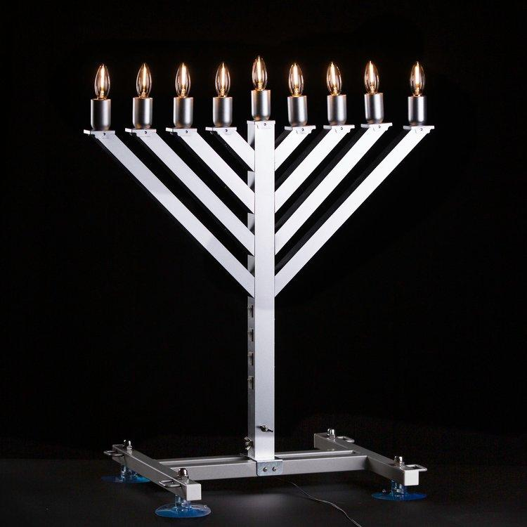 2 Ft Car Display Menorah