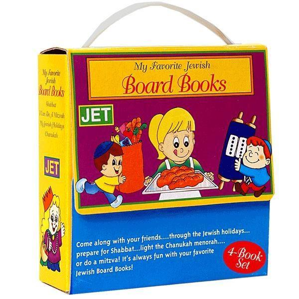4 Board Books In Carry Case