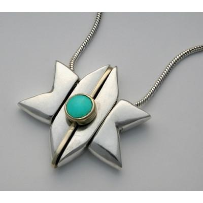 5 Piece Star Of David Turquoise Stone
