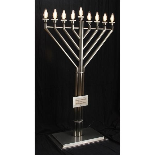 6 Foot Large Display Electric Menorah Menorah Only