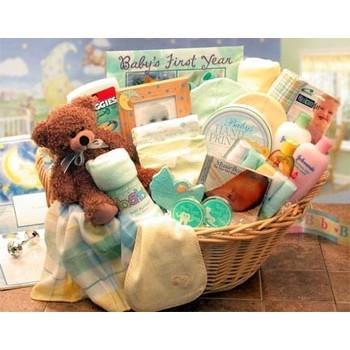 A Unique Baby Gift Basket