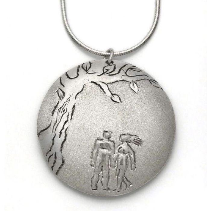 Adam & Eve Pendant & Necklace