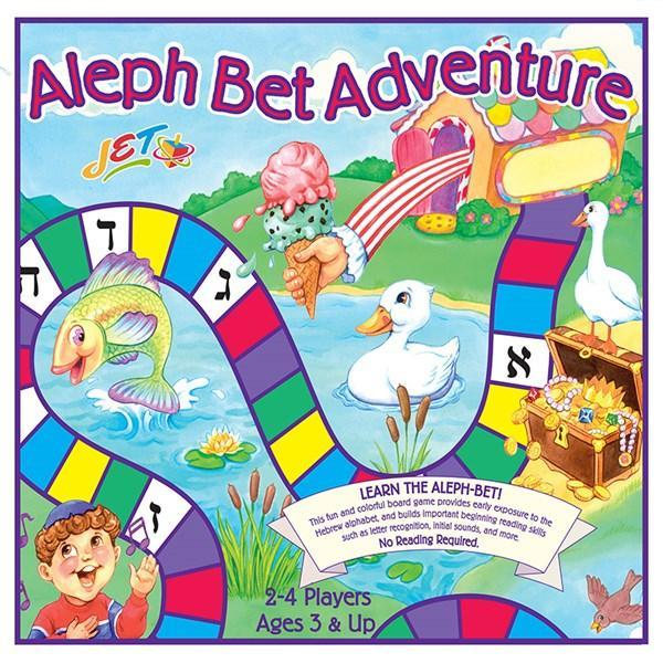Aleph Bet Adventure Boardgame