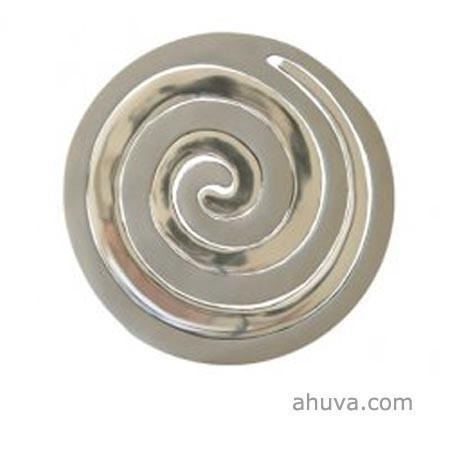 Aluminum Two Pieces Trivet - Snail Silver