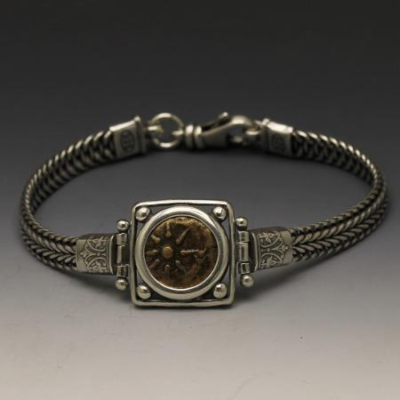 Ancient Judaic Coin Bracelets - Widows Mite Widows Mite
