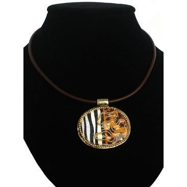 Animal Print Urban Necklace - Jewelry