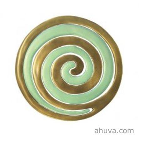 Anodize Aluminum Two Pieces Trivet - Snail Gold An