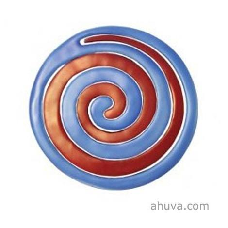 Anodize Aluminum Two Pieces Trivet - Snail Red And