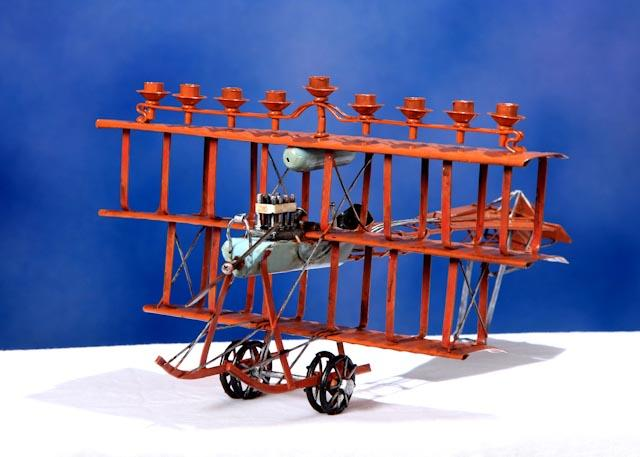 Automobile Hanukka Collection - Fantastic Flying Machine