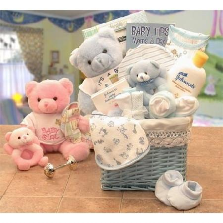 Baby Gift Basket Boy Or Girl Baby Boy- Blue