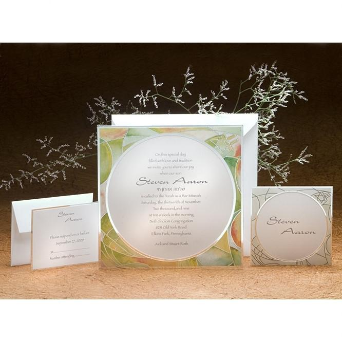 Bat Mitzvah Invitations - Mosaica Add Thank You Cards