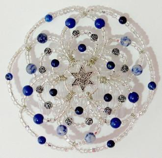Beaded Kippah For Women In 50 Color Designs ! Lavender Light