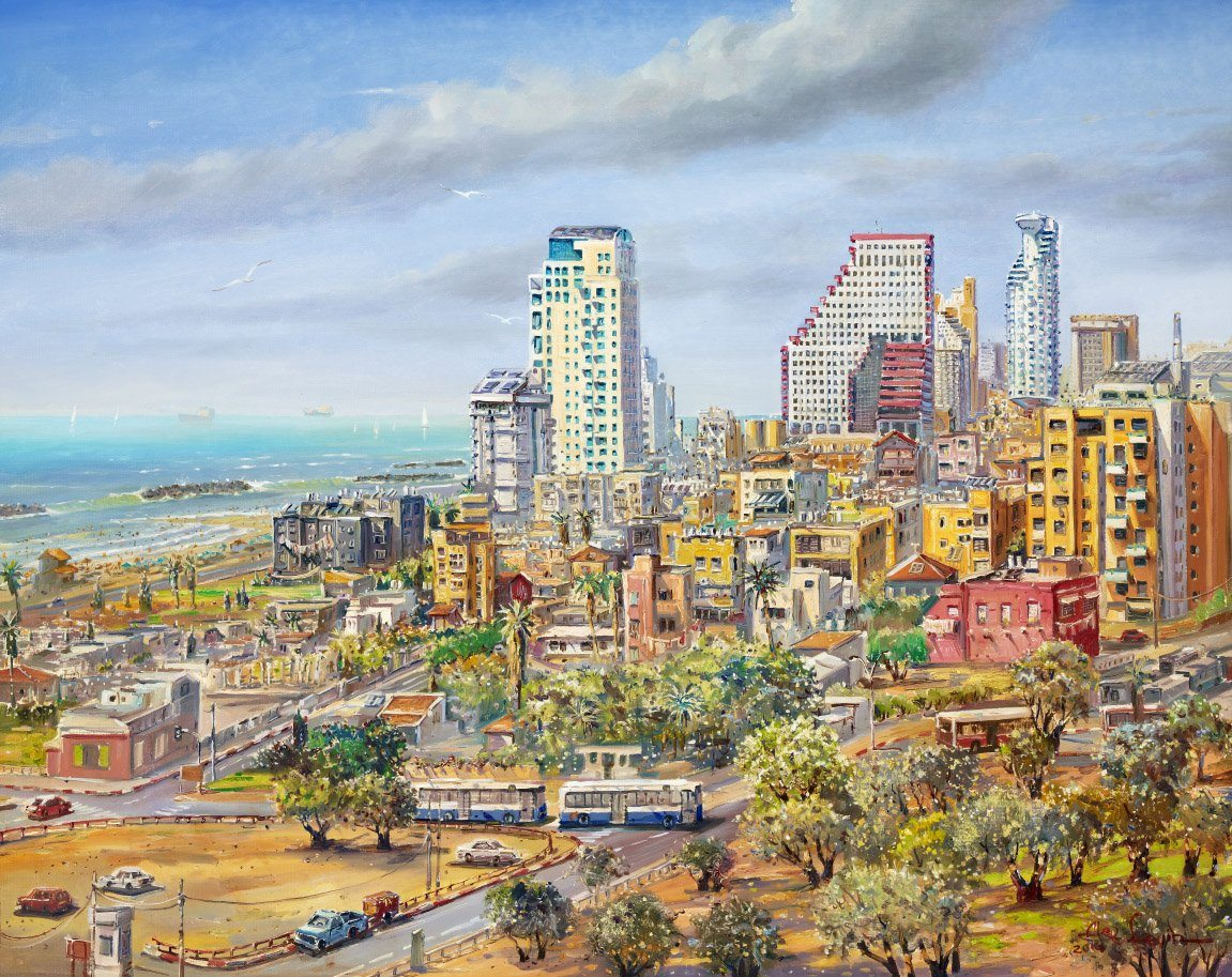 Bird's Eye View of Tel Aviv