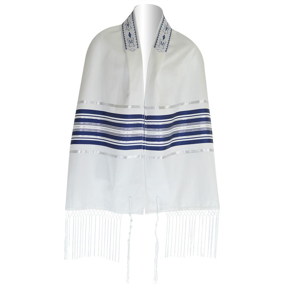 Blue And Silver Striped Ariel Talis Blue And Silver Striped Ariel Talis