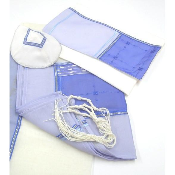 Blue Water Aqua Tallit Set On Sale !